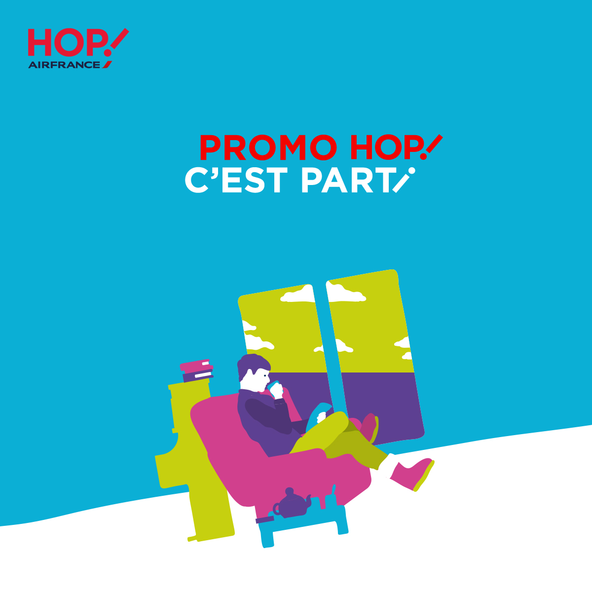 Promotions HOP! Air France